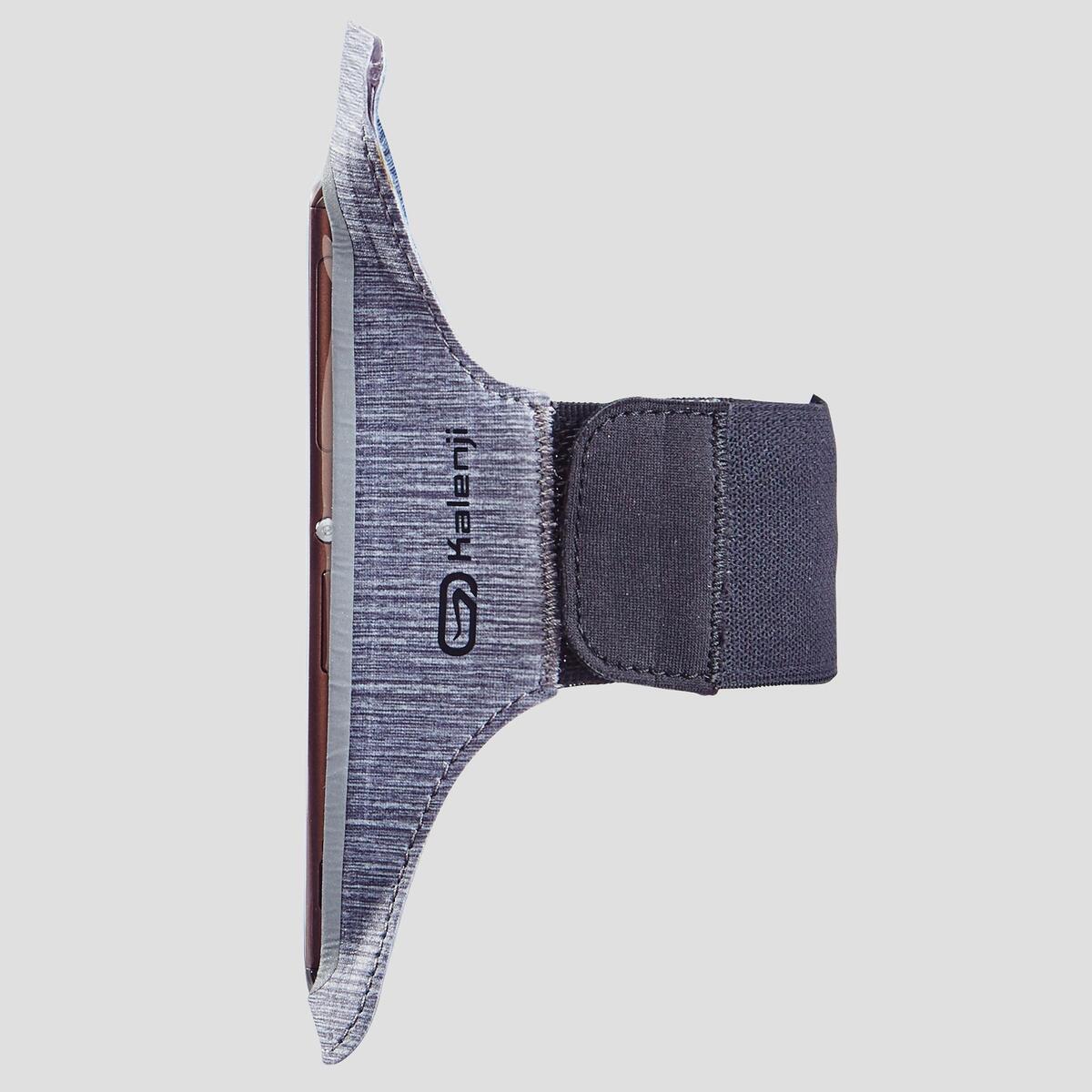 Bild 3 von Laufarmband für große Smartphones grau