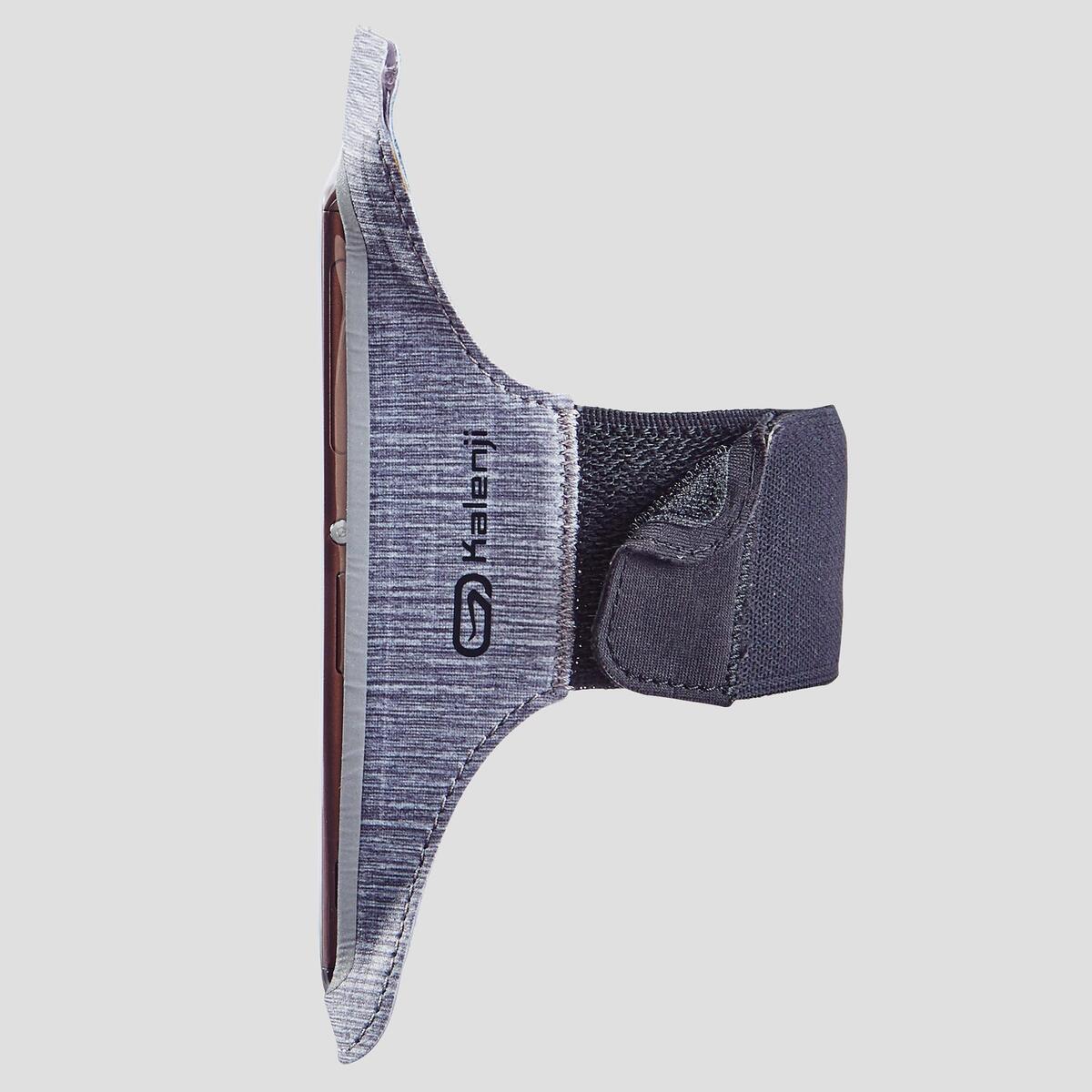 Bild 4 von Laufarmband für große Smartphones grau