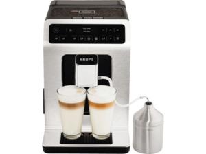 KRUPS EA891D Evidence Kaffeevollautomat in Aluminium/Schwarz