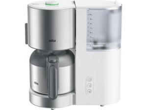 BRAUN ID Collection KF 5105 Kaffeemaschine mit Thermokanne in Weiß