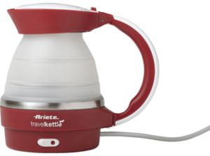 ARIETE 00C286200AR0 Wasserkocher in Rot/Transparent