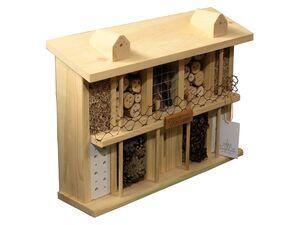 dobar Insektenhotel »Landsitz Superior« als Bausatz, aus Kiefernholz, mit Füllmaterial