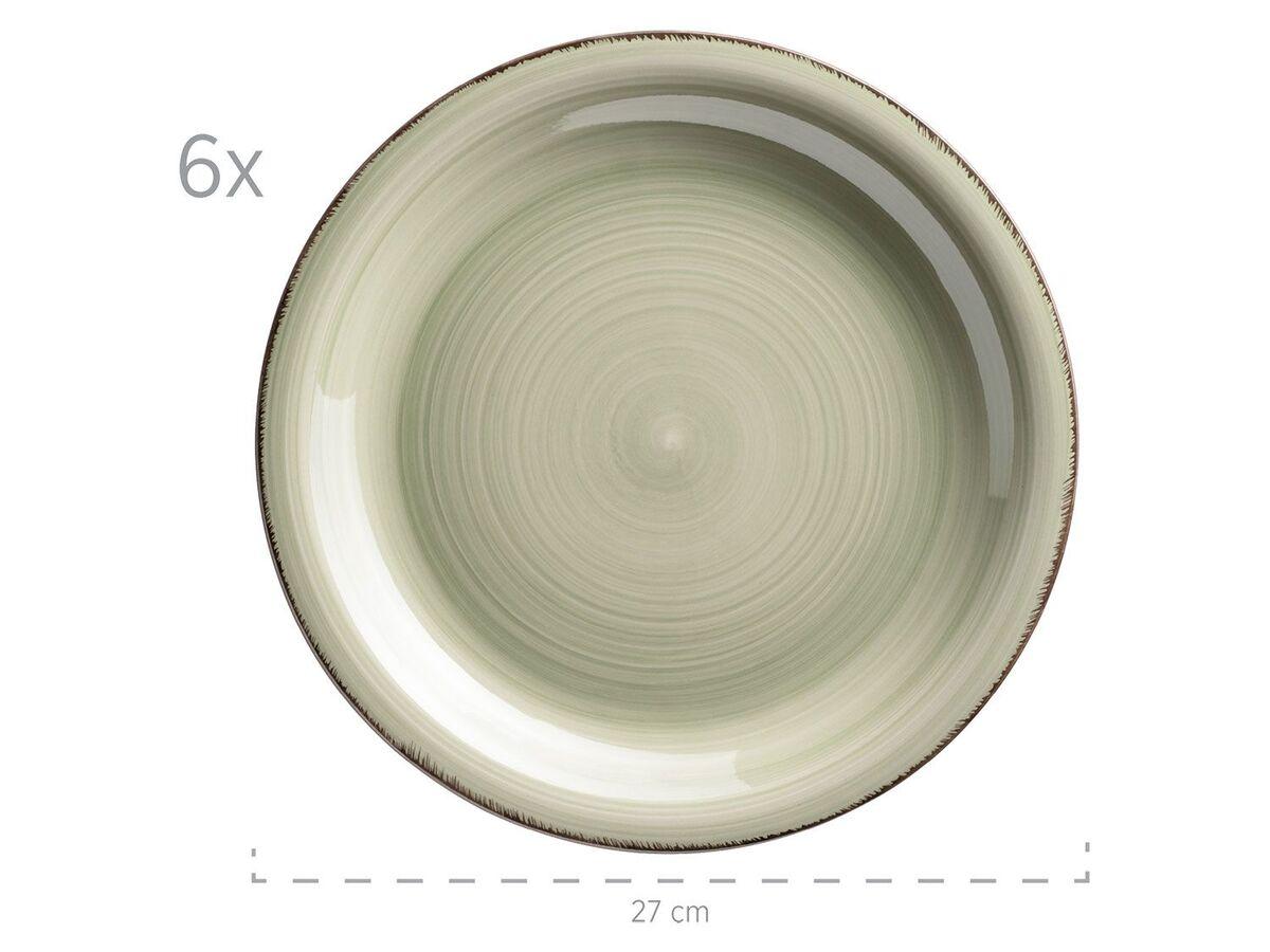 Bild 3 von MÄSER Serie Lumaca, Tafelservice 12-tlg, Keramik Geschirr-Set für 6 Personen