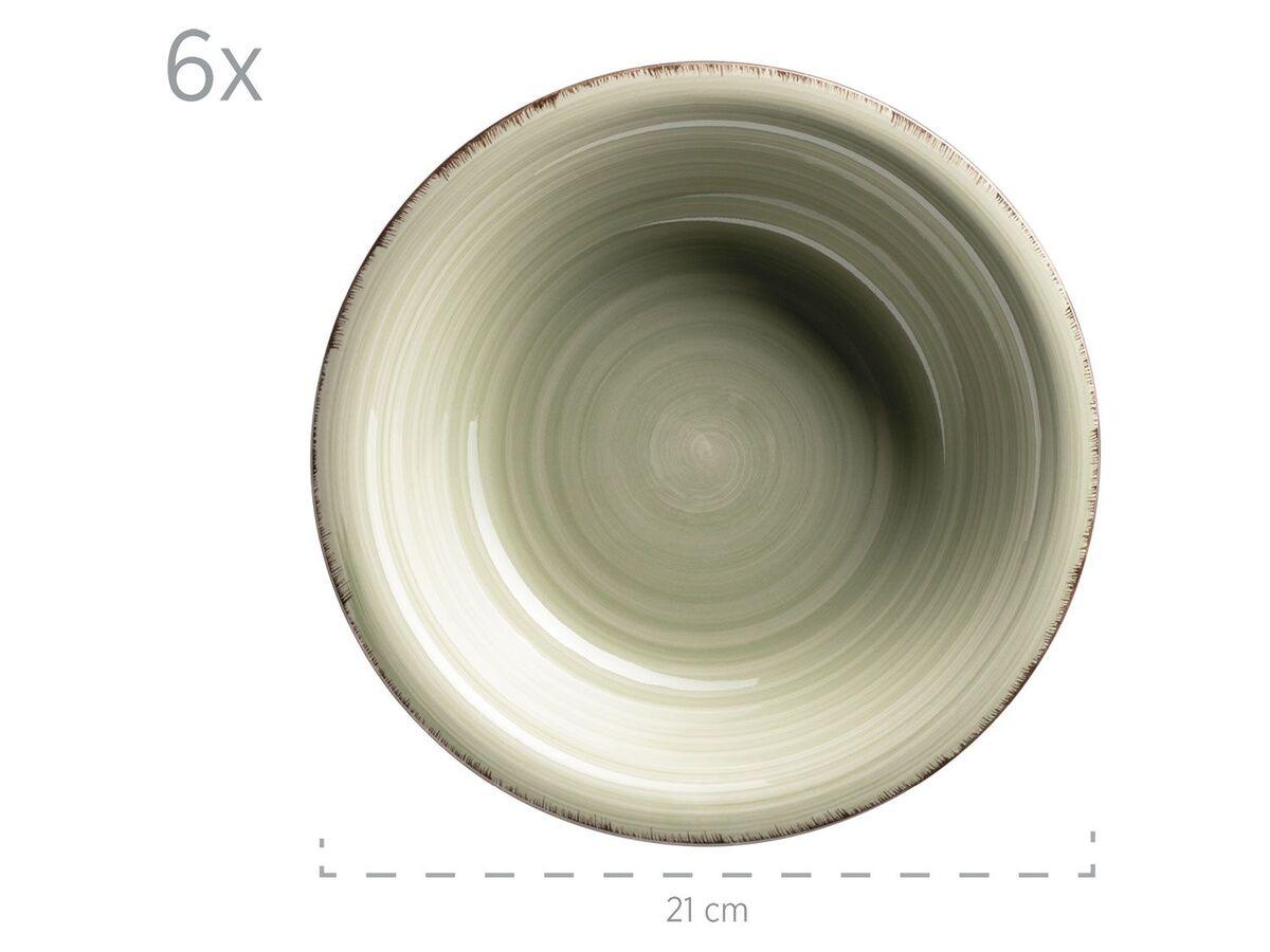 Bild 4 von MÄSER Serie Lumaca, Tafelservice 12-tlg, Keramik Geschirr-Set für 6 Personen