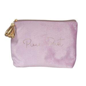VELVET Kosmetiktasche Pure Dust Samt