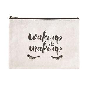 SURVIVAL KIT Kosemtiktasche 'Wake up, make up'