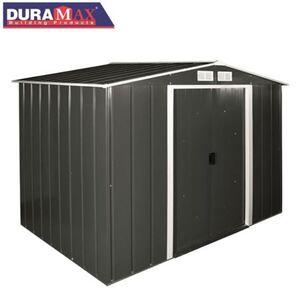 DURAMAX Metallgerätehaus ECO 262x191x182cm Anthrazit