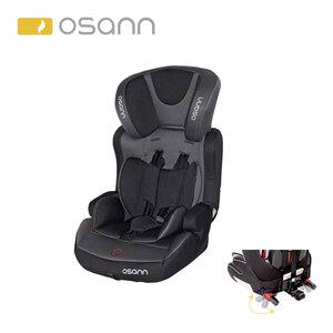 Kindersitz Lupo Isofix Klasse 1 / 2 / 3 für Kinder von 9 - 36 kg, bequeme Armlehnen, höhenverstellbares 5-Punkt-Gurtsystem