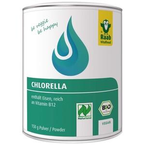 Raab Bio Chlorella Pulver 150 g