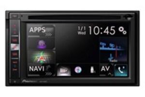 Pioneer AVIC-F860BT DVD-Mediacenter mit Navigation, Autoradio, USB, CD-/DVD-Tuner und Bluetooth, hochauflösendes Multitouch-Display, 2-DIN