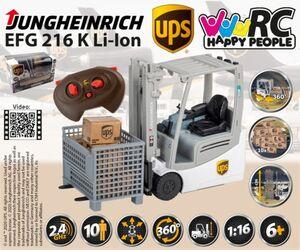 RC Gabelstapler - UPS