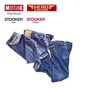 Herren-Jeans Mustang, Hero by John Medoox oder Damen-Stooker-Jeans versch. Modelle, Waschungen und Größen, ab