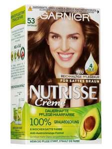 Garnier Nutrisse Dauerhafte Pflege-Haarfarbe - Samtbraun