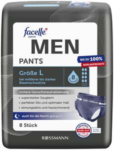 facelle diskret Hygiene Pants MEN Größe L