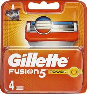 Gillette Fusion 5 Power Rasierklingen 4-tlg.