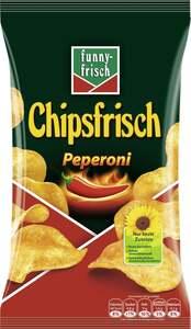 funny-frisch Kartoffelchips mit Peperoni-Geschmack