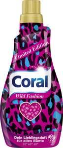 Coral Flüssigwaschmittel Wild Fashion, 22 WL
