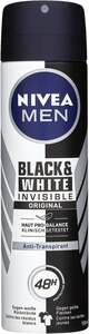NIVEA MEN Anti-Transpirant Spray Blac & White Invisible Original