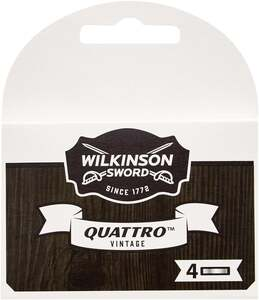 Wilkinson Sword Quattro Vintage Rasierklingen