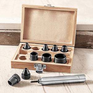 Kraft Werkzeuge Locheisen-Set, 10 tlg., groß