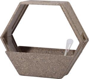dobar Eco-Design Pflanzkasten-System aus Stroh-Fasern