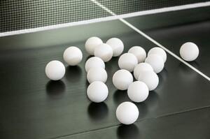 Topfit Tischtennis-Bälle, 18er Set
