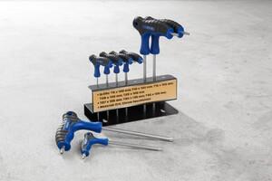 Kraft Werkzeuge Sternschlüsselsatz mit T-Griff 8-tlg.