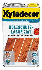 Xyladecor 2in1 Holzschutzlasurgrau 2,5L Xyla