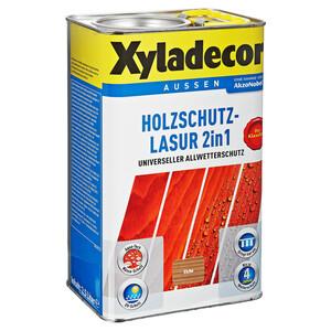 Xyladecor Holzschutzlasur 2in1 eichefarben 2,5 l