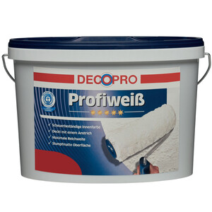 DecoPro Profiweiß 2,5 Liter matt