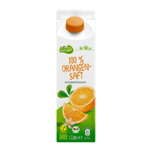 GUT BIO     100 % Bio-Orangensaft