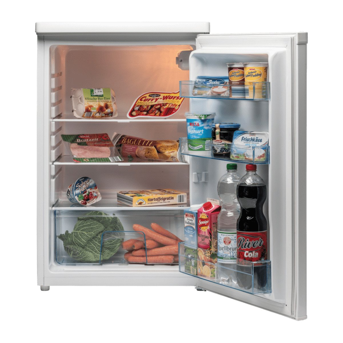 Bild 2 von QUIGG     Vollraum-Kühlschrank MD 13854