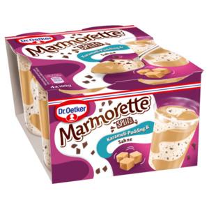Dr. Oetker Marmorette Karamell Pudding 4x100g