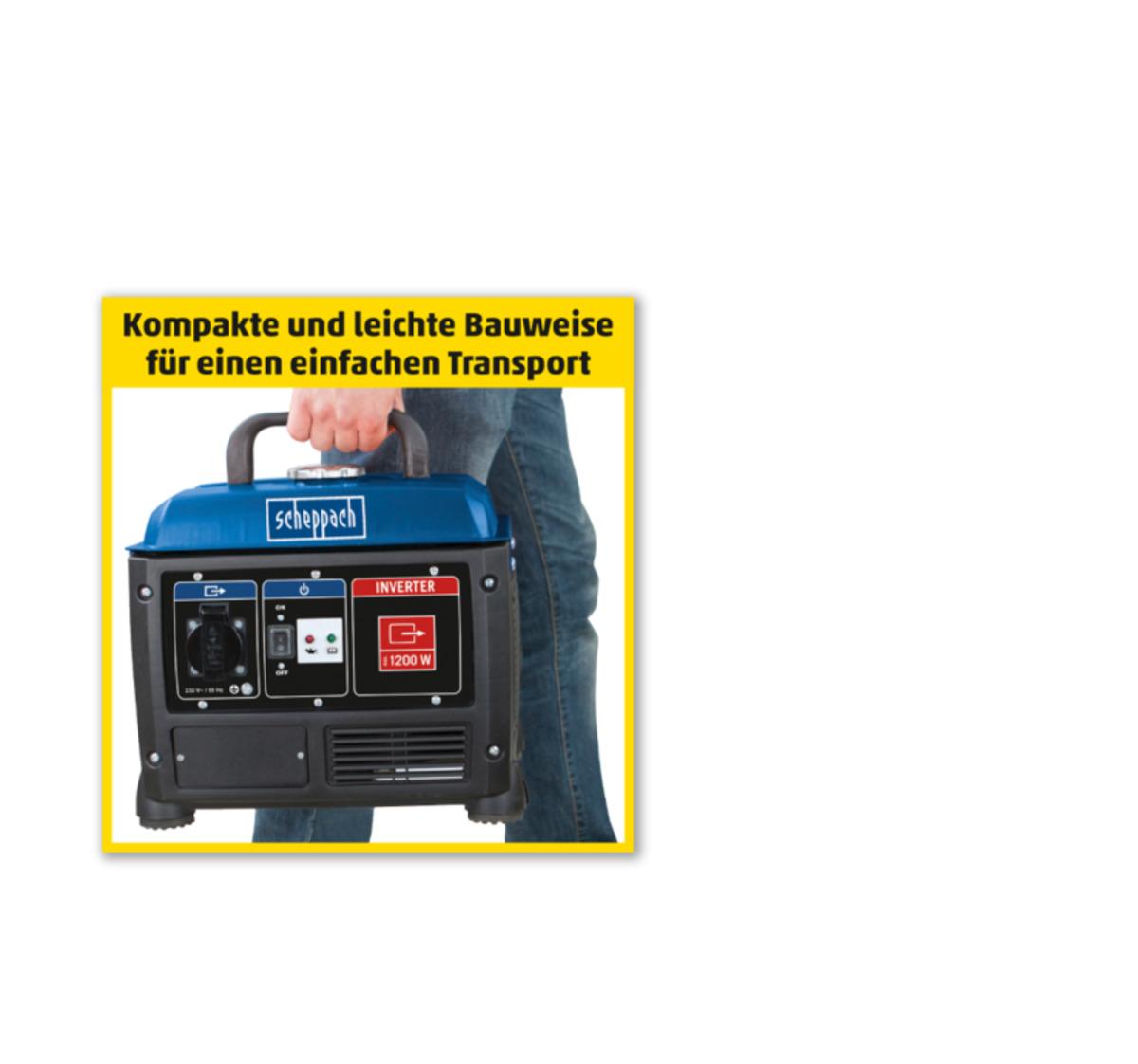 Bild 2 von SCHEPPACH Stromerzeuger SG 1 200