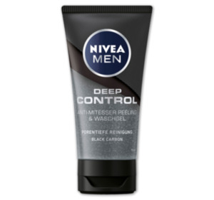 NIVEA Men Deep Control, Peeling und Waschgel