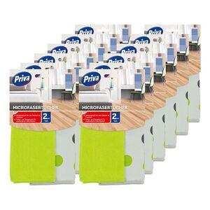 Priva Microfaser Tücher Set 2 ST, 12er Pack
