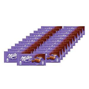 Milka Tafelschokolade Noisette 100 g, 23er Pack