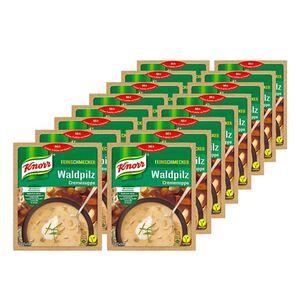 Knorr Feinschmecker Waldpilzsuppe ergibt 0,5 Liter, 16er Pack