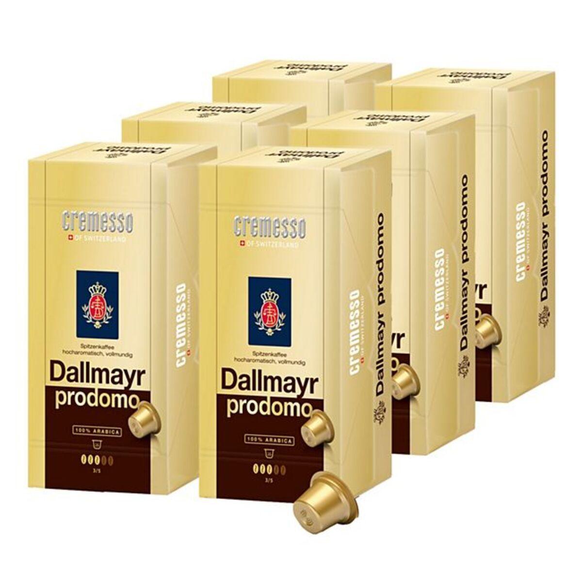 Bild 1 von Cremesso Dallmayr Prodomo Kaffee 91 g, 6er Pack