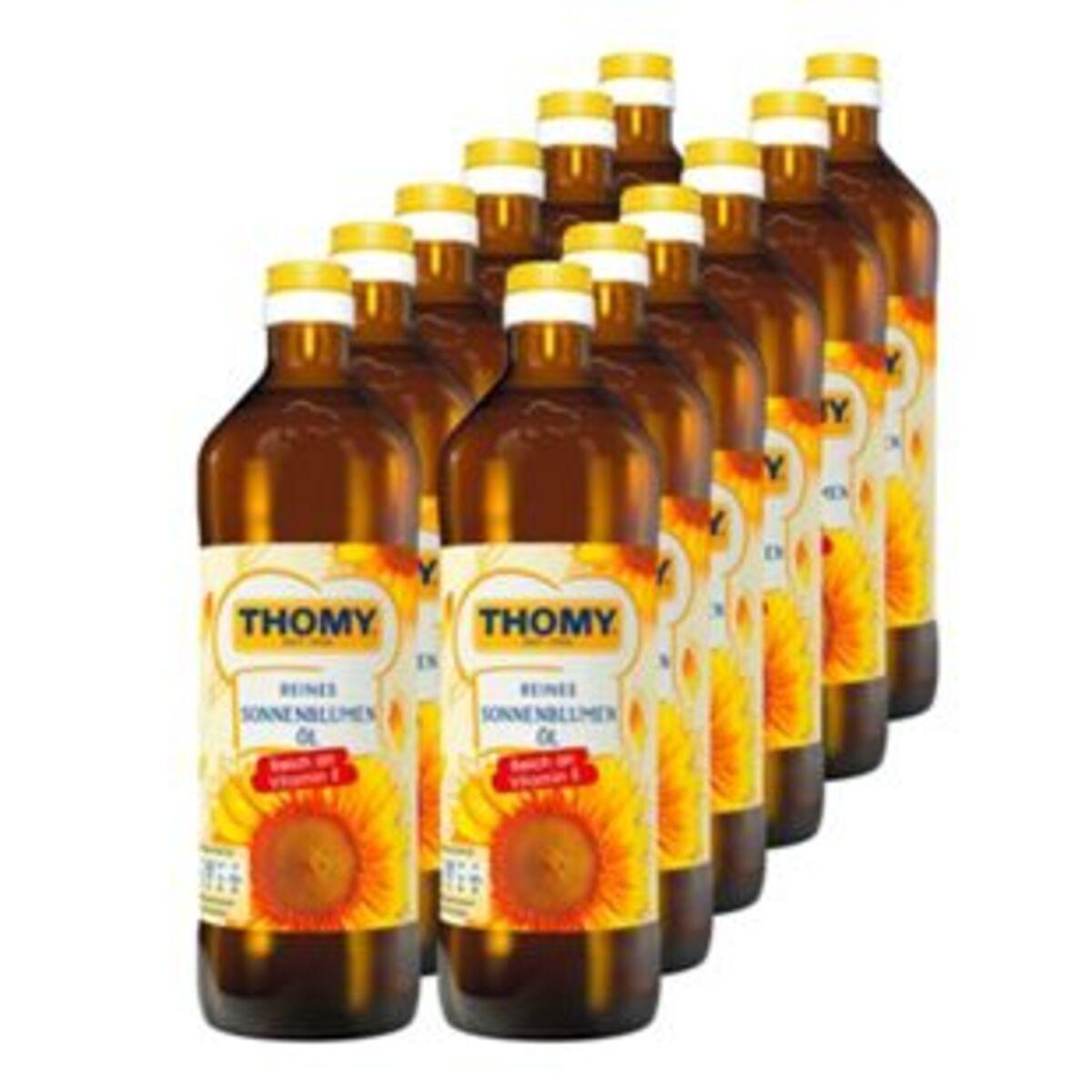 Bild 2 von Thomy Sonnenblumenöl 750 ml, 12er Pack