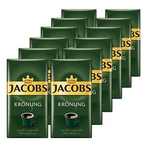 Jacobs Kaffee Krönung 500 g, 12er Pack