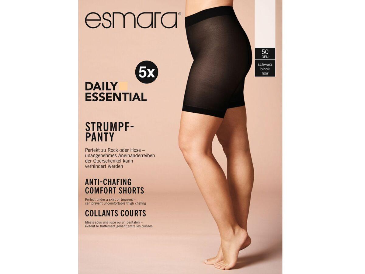 Bild 2 von ESMARA® Strumpf-Panties »50 DEN«, 5 Stück, Komfortbund, weiche Abschlussbündchen