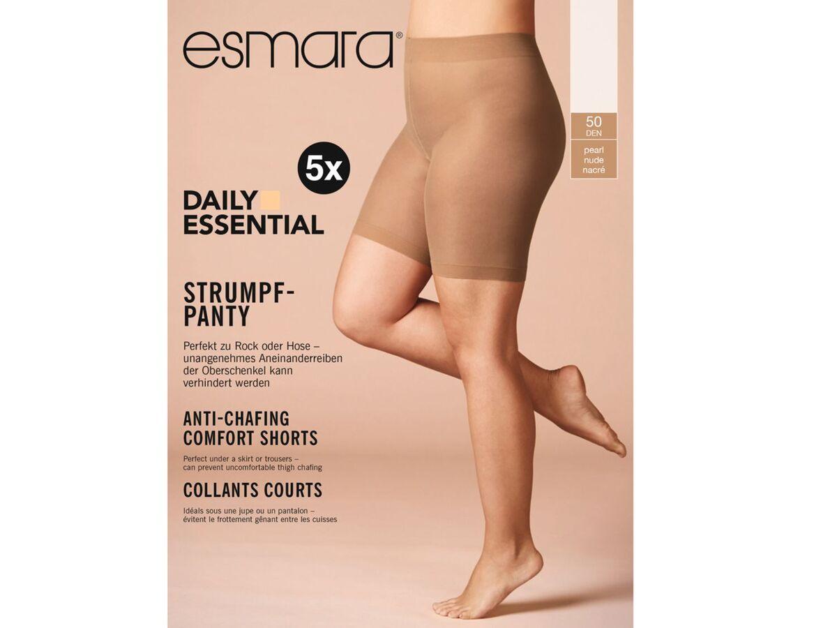 Bild 4 von ESMARA® Strumpf-Panties »50 DEN«, 5 Stück, Komfortbund, weiche Abschlussbündchen