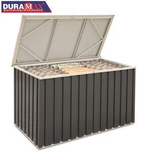 DURAMAX Metall-Gerätebox mit Deckel 590 Liter Anthrazit
