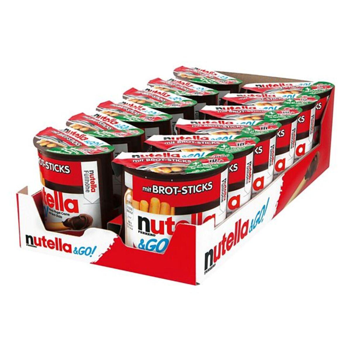 Bild 1 von Nutella & Go 52 g, 12er Pack