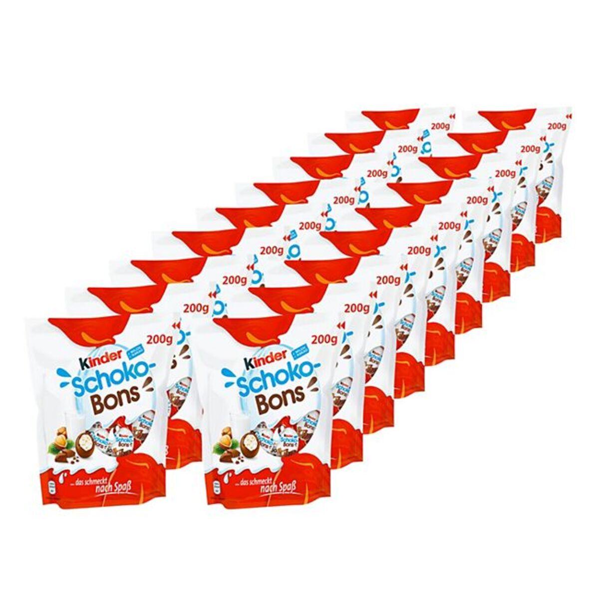 Bild 1 von Ferrero Kinder Schokobons 200 g, 18er Pack