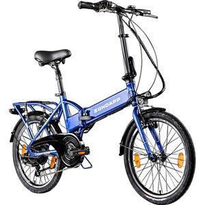 Zündapp Z101 20 Zoll E Klapprad E-Bike Pedelec StVZO Elektrofaltrad 6 Gänge Faltrad... blau