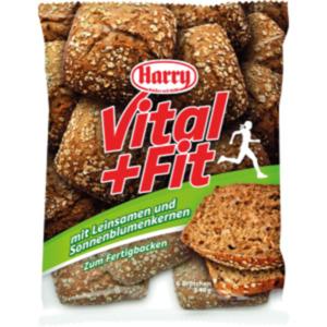 Harry Vital + Fit Brötchen