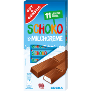 Gut & Günstig Schoko & Milchoder Erdbeer- & Joghurtcreme