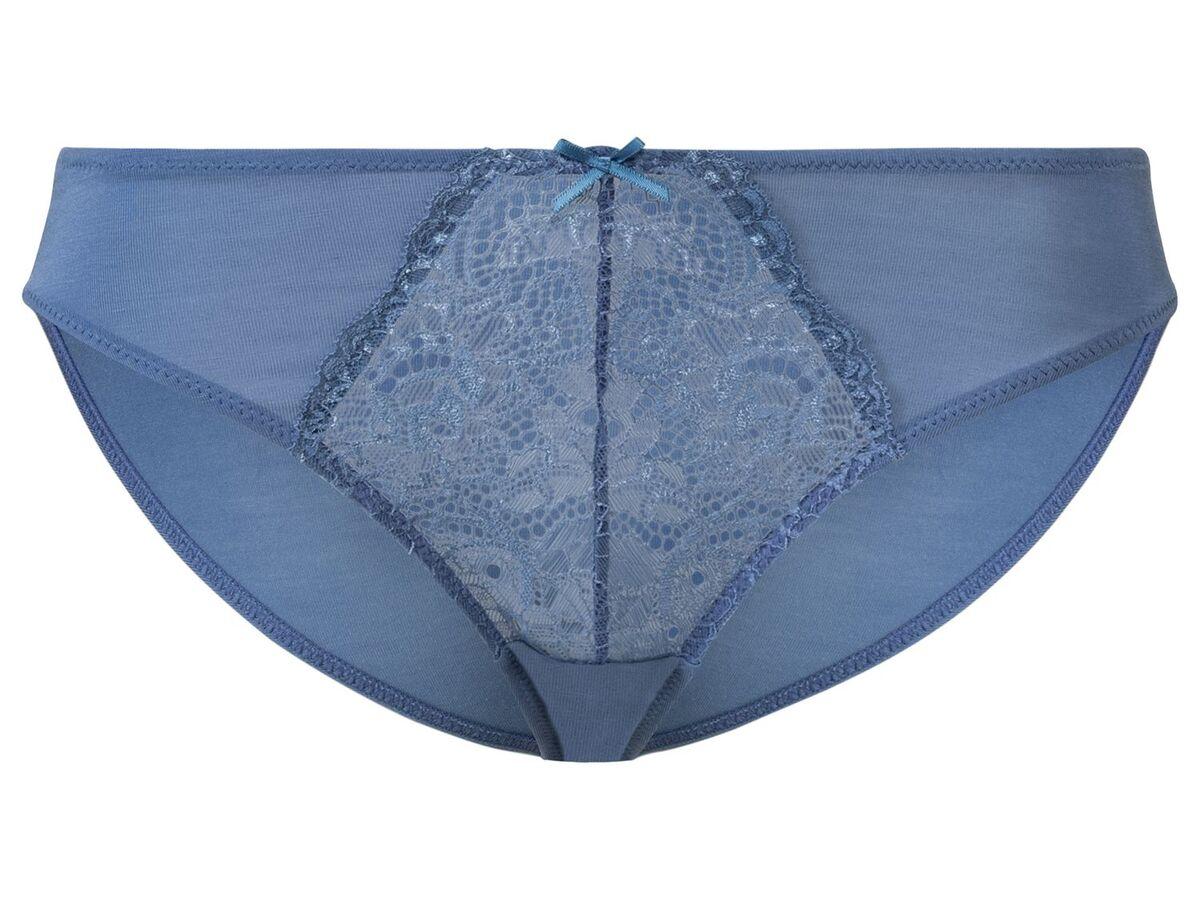 Bild 5 von ESMARA® Slips Damen, 3 Stück, mit Spitze, mit Elasthan